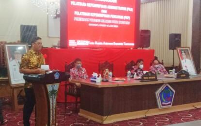 Buka Kegiatan PKA dan PKP Pemprov Sulut, Wagub Steven Tegaskan Pentingnya Integritas