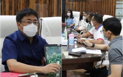 Walikota Andrei Angouw Pimpin Rapat Aset Pemkot di Kima Atas