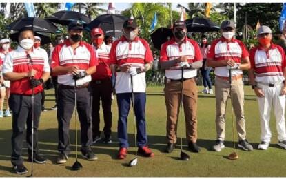 Buka Giat Golf Goes To Likupang, Gubernur Olly Harapkan Dampak Positif Bagi Sektor Pariwisata