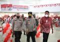 Gubernur Olly Tinjau Pelaksanaan Vaksinasi Merdeka Samrat