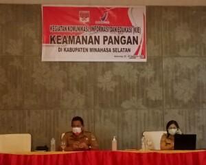 Gelar Sosialisasi KIE Keamanan Pangan, Dinkes Minsel Tingkatkan Kewaspadaan Pangan