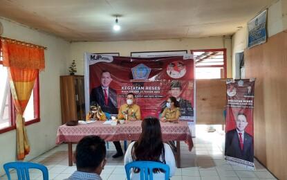 MJP Kagum Reses di Saronsong Dua, Ada Aspirasi Minta Pengadaan Perpustakaan dan Buku di Kelurahan