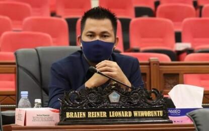 Pemprov Sulut Perpanjang PPKM, BW Minta Pemerintah Segera Beri Bantuan untuk Masyarakat