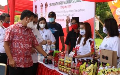 Wagub Kandouw Apresiasi Semangat UMKM Sulut di Tengah Pandemi