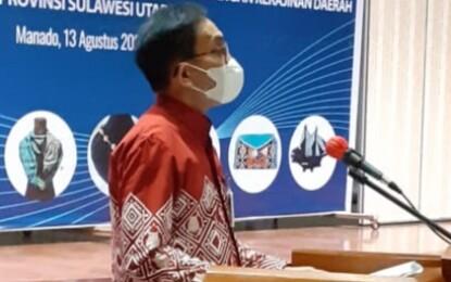 Praseno Hadi Hadiri Penandatanganan PKS Dekranasda dan KPwBI Sulut