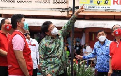 Walikota Andrei Angouw Kunjungi Sejumlah Titik di Manado