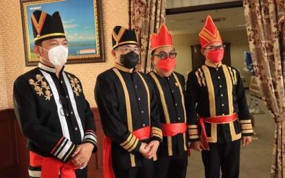 Walikota Manado Hadiri Rapat Paripurna HUT ke 57 Provinsi Sulut
