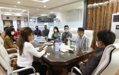 Walikota Andrei Angouw Beraudiensi dengan INN Manado