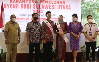 Wagub Steven Kandouw Buka Pemilihan Nyong Noni Sulut 2021