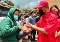 DPC PDI Perjuangan Mitra Bantu Korban Bencana Banjir Di Kecamatan Ratahan Timur