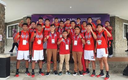 Tim Basket Putra Sulut Libas Tim Jatim