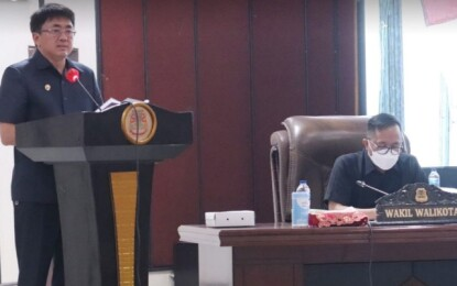 Walikota Andrei Angouw Sampaikan Rancangan Nota Keuangan Perubahan APBD TA 2021