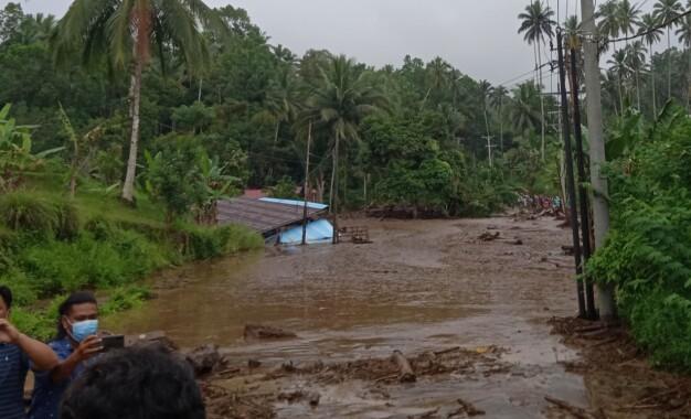 Banjir Bandang Landa Kabupaten Minahasa Tenggara